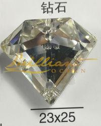 De Bergkristallen van het Glas van de Diamant van Shinning van de fonkeling voor het Kleden van Decoratie