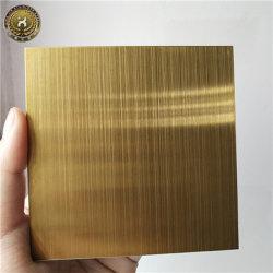 Декоративные полированным 304/201 8K черного золота из титана Ti Super указателя положения наружного зеркала заднего вида Hl цвета на спицах зубчатых шкивов с покрытием из нержавеющей стали лист/Пластины