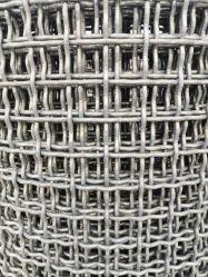 高炭素の鋼鉄によってひだを付けられる編まれた金網/スクリーンの網(XM)