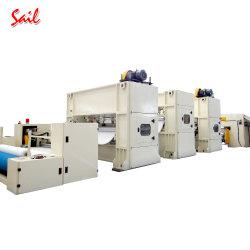 Tapete de exterior não tecidos fazendo a linha de produção de tapetes fazendo a máquina