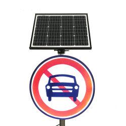 Дизайн клиента на солнечной энергии светодиод трафика предупреждающий знак системной платы