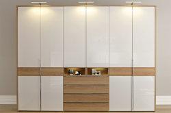 Chinesische Art-moderner Entwurfs-Garderoben-Schlafzimmer-Möbel-hölzerner Wandschrank