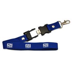 حزام العنق محرك أقراص USB محمول من نوع USB