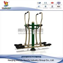 Saca-plana dupla máquina de aço galvanizado o equipamento de fitness ao ar livre