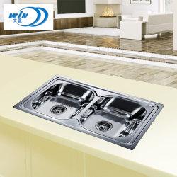 Suporte Superior do metal Design topo de loiça de aço inoxidável 780*480mm