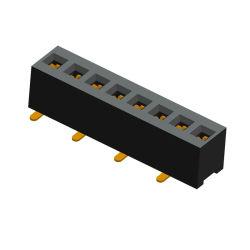 Cabezal de pines de fila única conexión placa a placa de Hardware de montaje en PCB