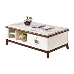 Горячая продажа хорошего качества из естественной древесины современные дизайнерские кофейный столик для гостиной