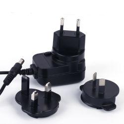 Universal Plug interchangeables 5V1un adaptateur secteur pour l'UE/UK/us/au marché avec ce& Certificats