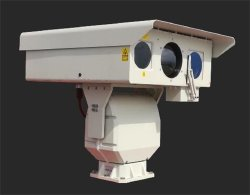 IP de alta definición Multi-Sensor Daynight de largo alcance de la cámara de seguridad térmica con Laser Telémetro