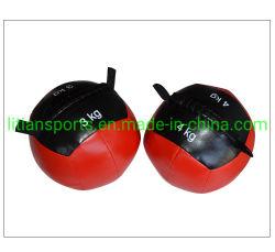 PUの重量のトレーニングのための革柔らかい薬の壁の球
