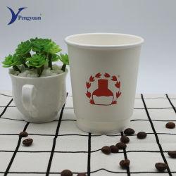 Isolados descartáveis para bebidas de café papel potável chávena de café