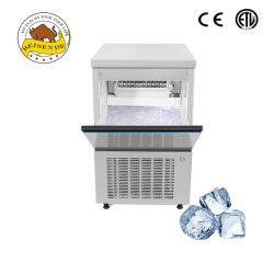 Cubo de acero inoxidable de alta calidad comercial Ice maker Máquina de Fabricación de hielo automática