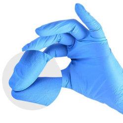 مستهلكة نتريل قفّاز مسلوقة فحص حرّة واقية [فينا] قفّاز أمان يد قفّاز