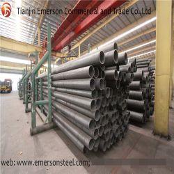 ASTM A106gr. Programma van categorie B 40 van B Mej. Carbon Seamless Steel Pipe van het Ijzer van het Metaal Zwart Mild Groot op Voorraad