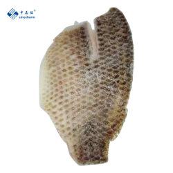 Niloticus Pescado Congelado mariscos Filete de tilapia de piel negra de China