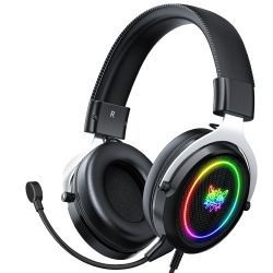 Bengoo G9000 Stereo Gaming Headset für PS4 PC Xbox One PS5 Controller, Noise Cancelling über Ohr Kopfhörer mit Mikrofon, LED-Licht, Bass Surround, Soft Memory Earm
