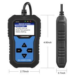 Konnwei Kw350 carro cheio System SRS do scanner Scanner de ABS auto Ferramentas de diagnóstico para a VW
