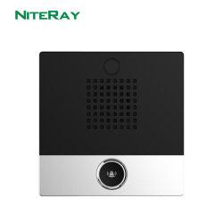 Seguridad de la puerta de la unidad exterior de la puerta eléctrica impermeable Teléfono
