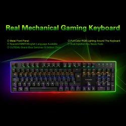 Реальные Механические узлы и агрегаты игровые клавиатуры, Abntii испанского языка или другой язык всех в связи с