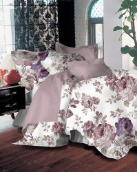 100% algodón ropa de cama sábanas sábanas de tela con Niza Impresión de flores