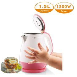 Prodotti elettrici a potere automatico astuto della caldaia 1.5L dell'acqua di ebollizione della cucina fuori