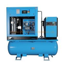 Compresseur d'air à vis avec sécheur d'air 1,5m3/Min11kw 15HP 20HP 15kw
