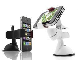 iPhone Silicone Phone HolderかRetail Security HolderのためのセルPhone Holder