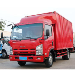 98HP Japanese Qingling Kv100 Container Carrier Truck 5t Close Cargo Auto