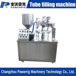 المنتجات الشهيرة وبيع ساخن لصق التعبئة آلة التحميل اليدوي أنبوب برأس تعبئة فردي