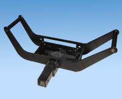 Placa de suporte móvel para guinchos para Suporte de Montagem do Receptor do Engate de Carreta SUV 4WD