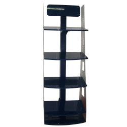 Nivel de acrílico Isla Independiente/Suelo Mostrar/estantes Rack de cosméticos de acrílico de mostrar la tabla