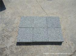 Flamed/aperfeiçoou/Bushhammered G612 China Jumbo granito verde pavimento/Pedra de calçada / revestimento de paredes Tile/Escada/alimentador/piso exterior