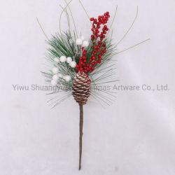 Рождество Берри выберите модель Pinecone сосновые иглы филиал свадебное цветочный декор цветочный ремесла