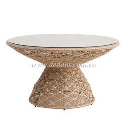 La Provenza, tejido de mimbre Muebles de Exterior mesa de comedor y sillas de comedor