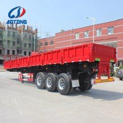 Sepcial semi-Remolque de volcado de lado diseñado para el transporte de hormigón