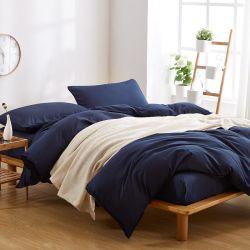 Nouvelle conception de la literie polyester drap de lit en duvet couvrir
