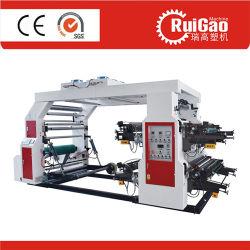 高品質4カラーFlexoの印刷機