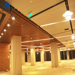 OEM / ODM Revêtement bande en aluminium/Bar/tige pour la pendaison en aluminium système de plafond suspendu