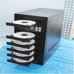 熱い販売の5皿のCDコピー機械CD DVDバーナー