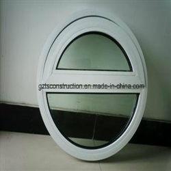 Customzied Double vitrage PVC Fenêtre ronde