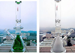 Tubi di acqua di vetro di nuovo disegno di Hbking K7, tubi di tabagismo, tubi di acqua di fumo per la fabbrica all'ingrosso
