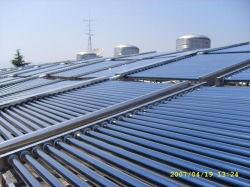 Progetto solare FTP-190-58/1800-50 del riscaldamento dell'acqua dell'hotel
