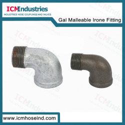 BSの糸Galの可鍛性鉄の管付属品Mf92の肘