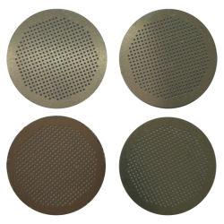 SS304 en acier inoxydable gravé chimique Photo feuille en métal perforé