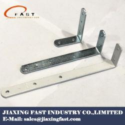 Support d'angle plat en métal pour le bois
