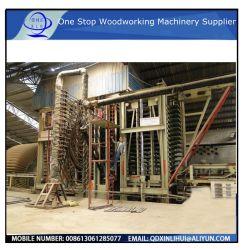 ماكينة الصحافة الساخنة MDF ماكينة جديدة أو مستعملة/لوحة فيبرboard متوسطة الكثافة / قشرة فينيقية للتلويح الهيدروليكي على الخشب الرقائقي PVC MDF / ماكينة مرساة دوارة هيدروليكية واحدة
