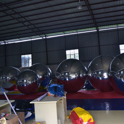 Miroir chiffon avec de l'étape ignifugé Inflatable boule miroir