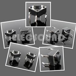 Los interruptores de tacto - DIP SMD de plástico negro de la plaza /