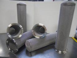 Filtro/cartuccia dell'acqua/olio idraulico personalizzato in acciaio inox 304 316 Cilindro