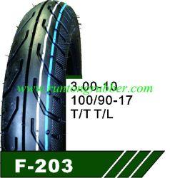 100/90-17 motorcycle pneu com tubo interno